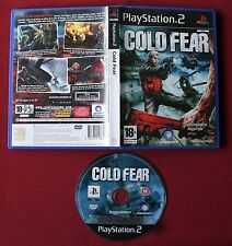 jeu  PS2 , COLD FEAR ,  version PAL