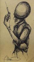 """Albert FLORES 14 Original CUBAN Fine ART Painting CUBA Latin 5x9"""""""