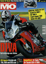 mo 8/05 2005 Yamaha Tricker BMW HP2 Husqvarna SM 610 MZ 1000 S KTM 640 SV 1000 S