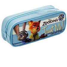 Disney Zootopia Authentic Licensed Good Quality Blue Pencil Case