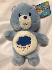 Vintage Care Bears Original Grumpy Bear 13 inch 2002 Plush Blue Heart Feet w/tag
