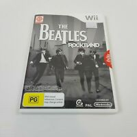 THE BEATLES Rock Band (Nintendo Wii) PAL Video Game - Complete NEW