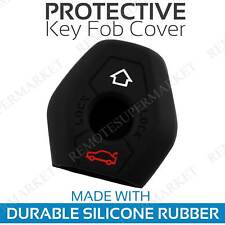 Key Fob Cover for 2003-2009 BMW X3 Remote Case Rubber Skin Jacket