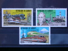 DJIBOUTI '1981 ** MNH 531/3 YT 4,90 EUR TRAIN,RAILWAY,CHEMIN DE FER,LOCOMOTIVE