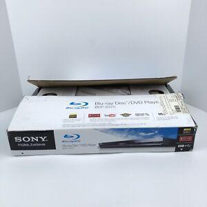 Sony BDP-S370 Blu-Ray Disc DVD Player HDMI New Open Box