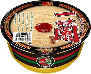 ICHIRAN Tonkotsu Ramen Instant noodles Cup Type 6 Packs Japan import NEW