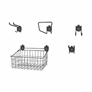 "Gladiator GarageWorks 18"" Wide Wire Basket - Single Grey"