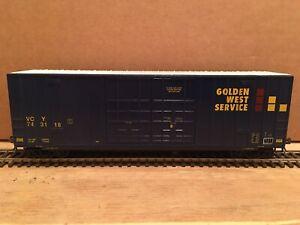 HO LBF Golden West 50' High Cube Boxcar VCY #743118 NS CSX BNSF UP KCS CN CP