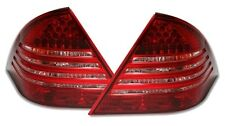 FEUX ARRIERE LED BLANC ROUGE CRISTAL MERCEDES CLASSE C W203 180 200 240 320 ESS