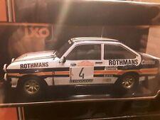 1/18 IXO FORD ESCORT MK2 RS 1800 1980 SAN REMO RALLY  #4 ARI VATANEN ROTHMANS