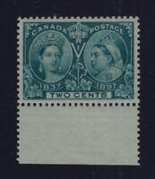 Canada Sc #52 (1897) 2c Diamond Jubilee VF NH