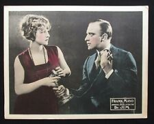 DR JIM 1921 Rare lobby card Frank Mayo Claire Windsor silent film doctor