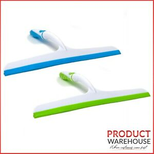 Window & Shower Squeegee Glass Cleaner Wiper Cleans Screen Washer Rubber Blade