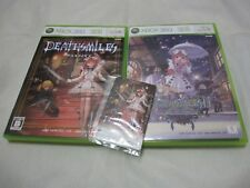W/Tracking XBOX 360 Death Smiles W/Card + Makai no Merry Christm 2 Set Japanese
