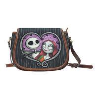 Fashion Shoulder Bag Jack and Sally Large Saddle Bag