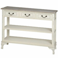 Console Tables with Drawers