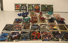 Bakugan Lot Of 23 , Cards, And Rule Book