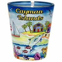 Cayman Islands Scene Shot Glass