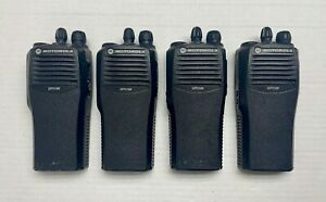 LOT of 4 Motorola GP3188 VHF handheld radio AZH50JDC9AJ2