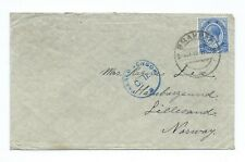 SOUTH AFRICA: Censored cover to Norway 1918.