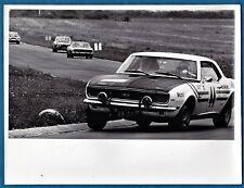 large vintage foto photo Chevrolet Camaro SS car Tour de France auto women 1969