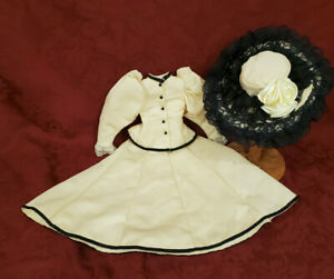 Vintage 3 Piece Gibson Girl Costume for Large Bisque Doll