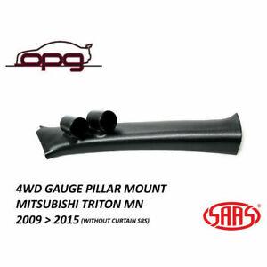 SAAS Gauge Pillar Pod for Mitsubishi Triton ML MN 2006 > 2015 52mm Gauges