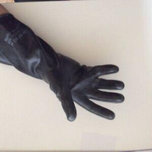 Säurefest Sandstrahlen Schutz USA  Saure Handschuhe Chemie Gummihandschuhe Sex