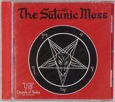 THE SATANIC MASS: Anton LaVey SEALED OOP 2003 CD Adversary Recordings Occult