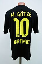 CALCIO BORUSSIA DORTMUND GERMANIA 2012/2013 AWAY FOOTBALL SHIRT JERSEY PUMA GOTZE #10