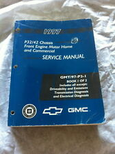 1997 P32/42 CHASSIS FRONT ENGINE MOTOR HOME GMT/97-P3-1  SERVICE REPAIR MANUAL