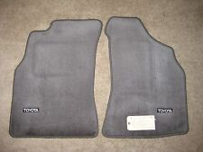 Toyota Pickup and 4Runner Gray Front Floor Mats OEM Genuine Toyota New 1989-1995