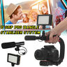 Video Stabilizer Camera Action DSLR Handle Grip Rig Light Microphone Camcorder