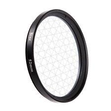 Universal 52mm 8PT 8 Cross Star Effect Lens Filter Eight Point Line DSLR Camera