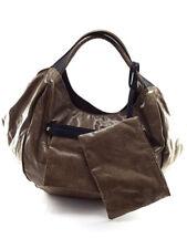 Borbonese Brown Savile O.P. Print Handle Bag, Medium, MSRP +600$