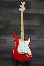 Fender American Deluxe Stratocaster with Maple Fingerboard 1990 Candy Apple Red