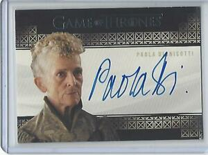 Game of Thrones Complete Series Paolo Dionisotti autograph (Valyrian)