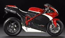 White Red Black Complete Fairing Injection for 2007-2012 Ducati 848 1098 1198