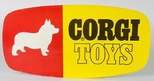Corgi Toys Store Display sign. Original 1960's USA unused Store Stock. MINT/Rare