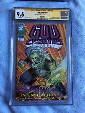 God Country #2 (Feb 2017) Savage Dragon #1 Homage CGC SS 9.6 Signed Cates & Shaw