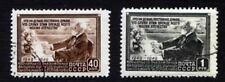 Russia USSR ☭ 1949 SC 1390-1391 used . d2223
