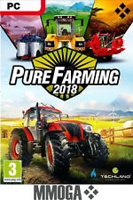 Pure Farming 2018 - Steam Digital Download Code - PC Spiel Eamil Versand - DE&EU