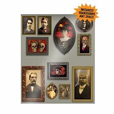 Halloween Haunted House Mansion Gothic Scary Picture Scene Setter Decoration