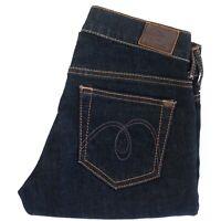 MAVI Womens LINDY Dark Blue Jeans NWOT Size W25 x L32 Low Rise Skinny Straight
