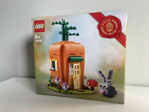 LEGO Limited Edition Easter Bunny Carrot House (40449) *BRAND NEW - BOX DAMAGE!