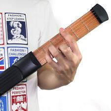 6 Fret Model Pocket Acoustic Guitar Practice Tool Gadget Chord Trainer Gift I9L2