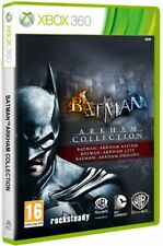 Batman Arkham Trilogy Collection XBOX360 - totalmente in italiano
