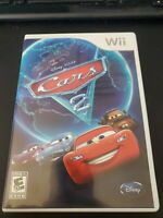 Disney Pixar Cars 2 Game For Nintendo Wii Excellent condition Complete w/ Manual