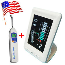 Dental Apex Locator Finder Root Canal Meter Color 45 Lcd Screen Pulp Tester