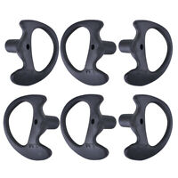 6x Silicone Soft Ear Bud for Covert Acoustic Tube Earpiece For Two-way Radio